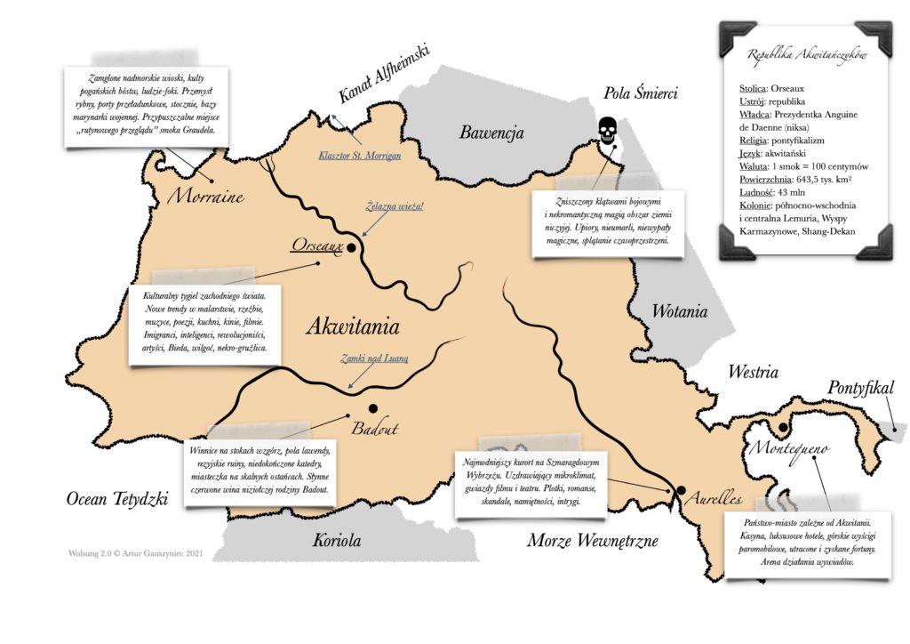 mapa akwitanii